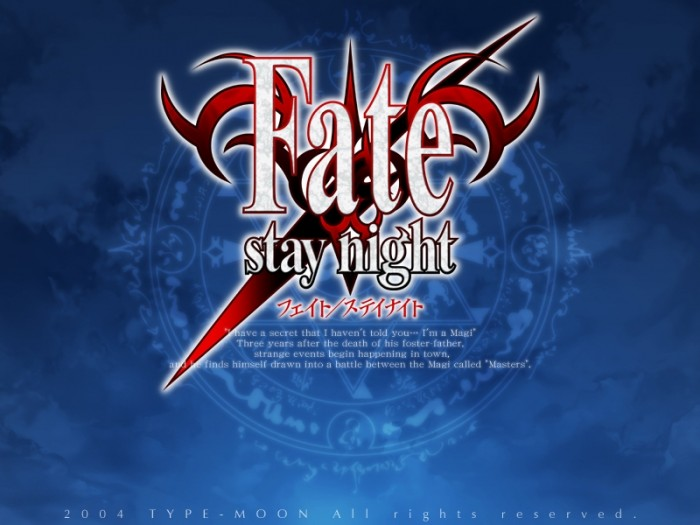 Fate/Stay Night Normal_title2-e1269562267221